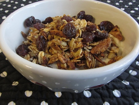 Holidays and Observances Recipe of the Day for January 20 is Pumpkin Granola