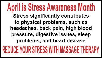 April is Stress Awareness Month