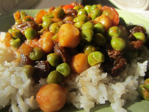 Holiday and Observances Recipe of the Day for January 26, is a Easy Vegetarian Curry Recipe from Kerry, of Healthy Diet Habits.