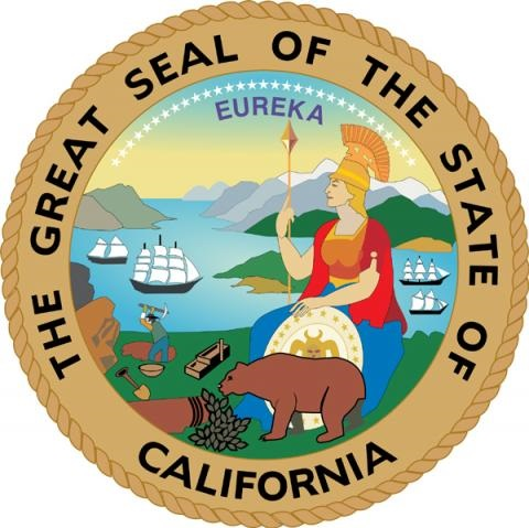 The Great Seal of the State of California - California State Holidays and Info.
