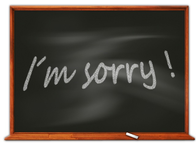 Global Forgiveness Day - July 7th Don't be afraid to say you're sorry!