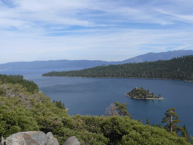 Emerald Bay at Lake Tahoe, CA