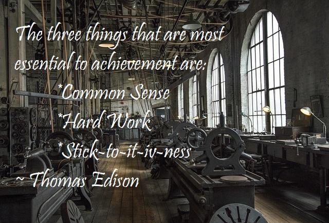 Thomas Edison Quote