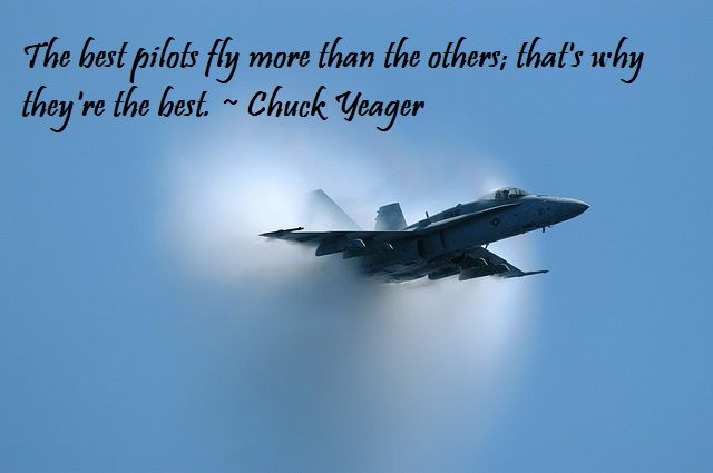 Chuck Yeager Quote!