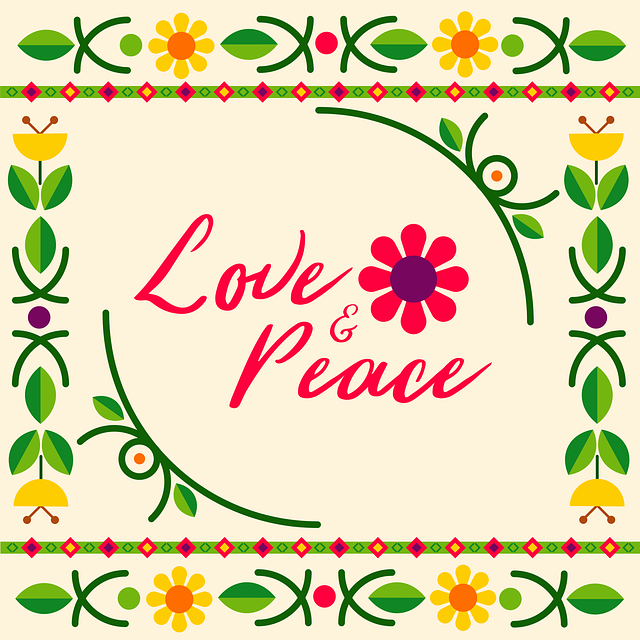 Love and Peace quote!