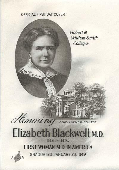 Elizabeth Blackwell was the first woman in the U.S. to receive a medical degree!