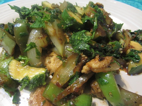 The Holidays and Observances Recipe of the Day for February 15, is a Healthy Chicken and Zucchini Stir Fry Recipe from Kerry, of Healthy Diet Habits.