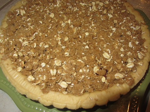 The Holidays and Observances Recipe for February 1, is a Berry Crumble Pie, from Kerry at Healthy Diet Habits.