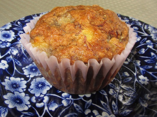 Holidays and Observances Recipe of the Day for April 12th is Healthy Banana Muffins