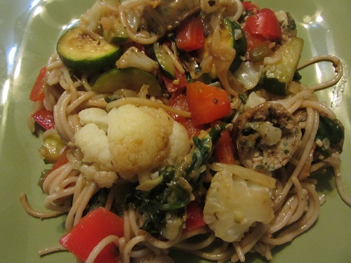 Holidays and Observances Recipe of the Day for February 7 is a Seasonal Vegetable Pasta from Kerry, at Healthy Diet Habits.