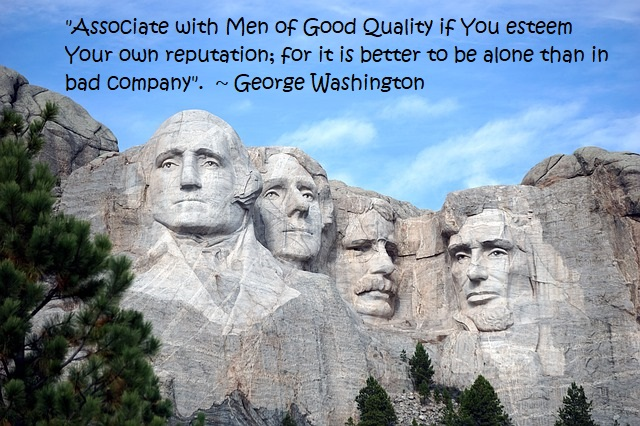 A great George Washington Quote is holidays-and-observances.com Quote of the Day for January 8!