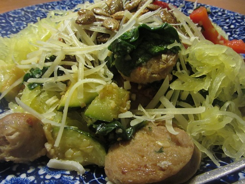 Holidays and Observances January 19 Recipe of the Day is Spaghetti Squash Recipe from Kerry, at Healthy Diet Habits