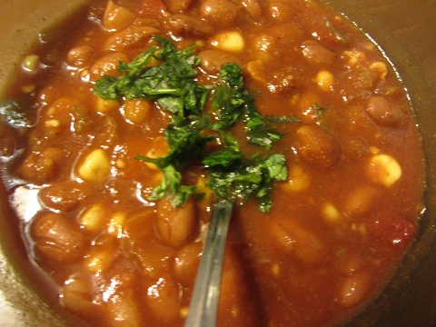 Slow Cooker Chili Recipe by Healthy Diet Habits - a perfect meal for dipping chips while watching the games on January 1