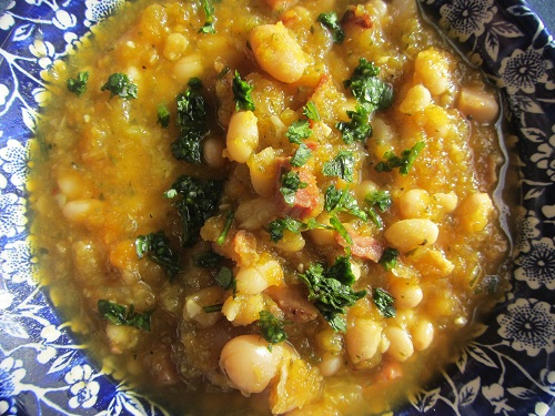 Holidays and Observances Recipe of the Day for January 29, is a Ham and Bean Soup Recipe from Kerry of Healthy Diet Habits.