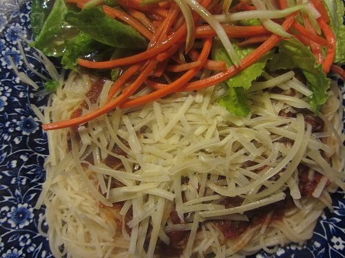 Healthy Spaghetti Recipe from Healthy Diet Habits