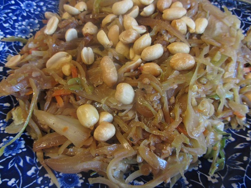 The Holidays and Observances Recipe of the Day for March 4, is a Vegetarian Cabbage Stir Fry from Kerry, of Health Diet Habits.