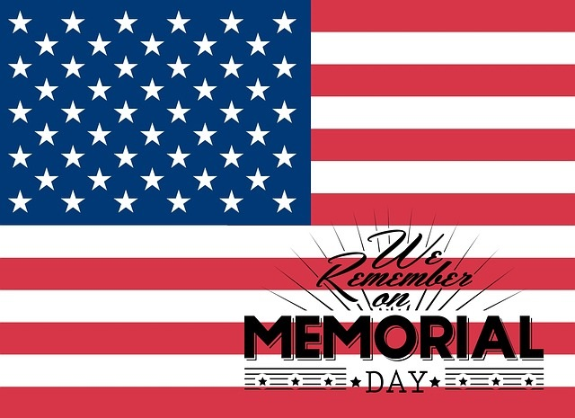 Memorial Day commemorates men and women who died while in Military service to the United States.
