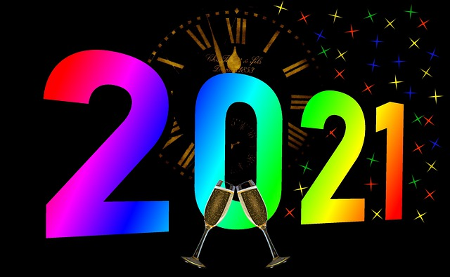 Ringing in 2021 on New Years Eve 2020!