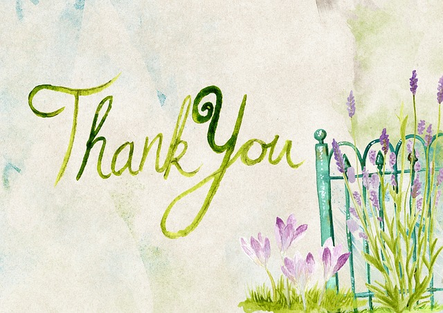 September 15th is National Thank You Day!