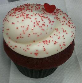 Valentines Day Cupcake
