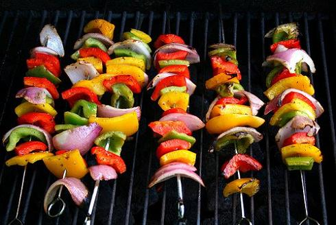 Veggie Kabobs - Great For Holiday Meals