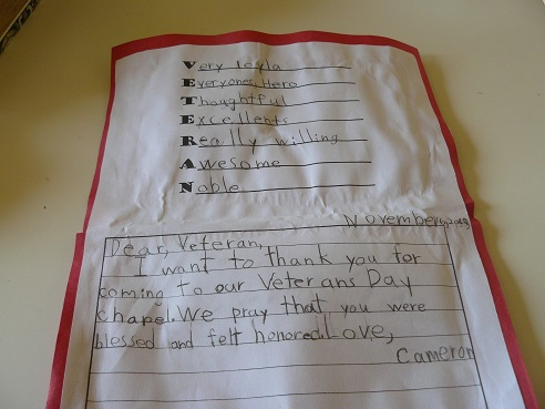 Veterans Day Card