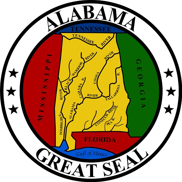 Alabama Great Seal - Alabama State Holiday Info/Facts
