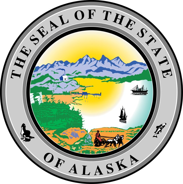 Alaska State Holidays Info. from Holidays and Observances. Pictured: Alaska State Seal