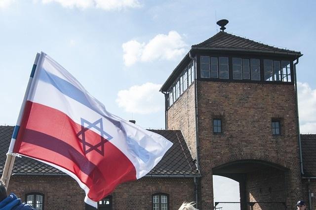 Auschwitz Concentration Camp in Poland during World War II