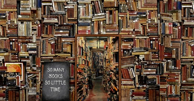 September 6th is Read A Book Day! So Many Books....So Little Time!