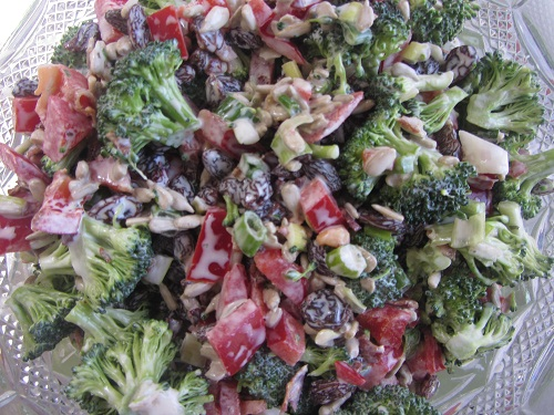 Broccoli Salad - Healthy Memorial Day Meals Tips from Holidays and Observances
