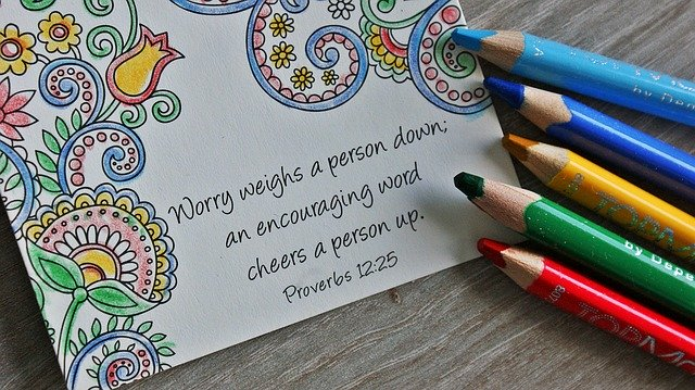 Worry weighs a person down; An encouraging word cheers a person up! Proverbs 12:25