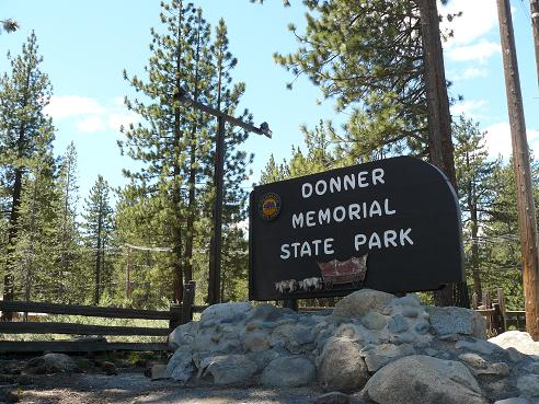 The Donner Memorial State Park, is a California State Park located in Truckee, California, has a Museum full of information about the Donner Party.
