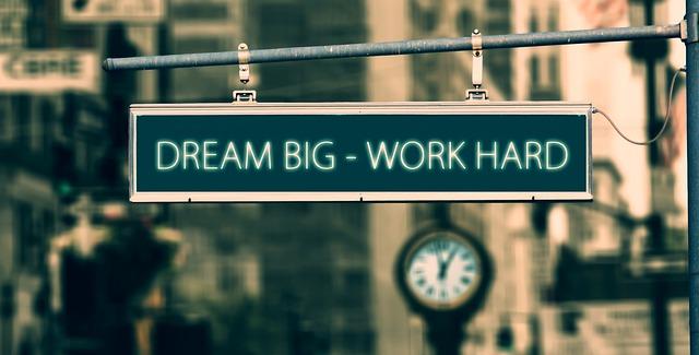 Dream Big - Work Hard