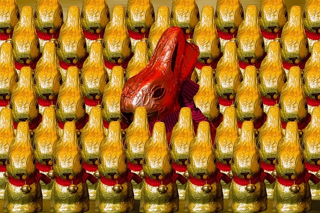 Easter Bunny Chocolates - Easter Food Tips from Holidays and Observances