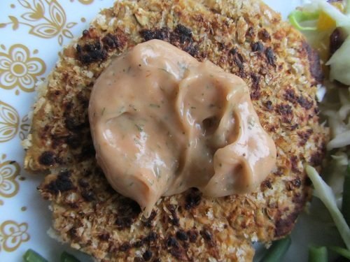 The Holidays and Observances Recipe of the Day for February 25 is a Salmon Cakes Recipe with Salmon Sauce.
