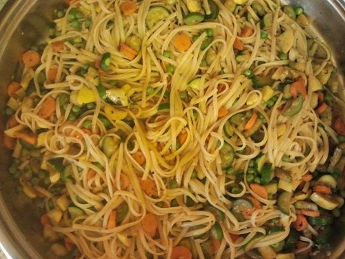 Vegetarian Spaghetti Recipe of the Day for February 27