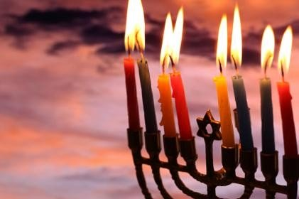 Hanukkah info. from Holidays and Observances