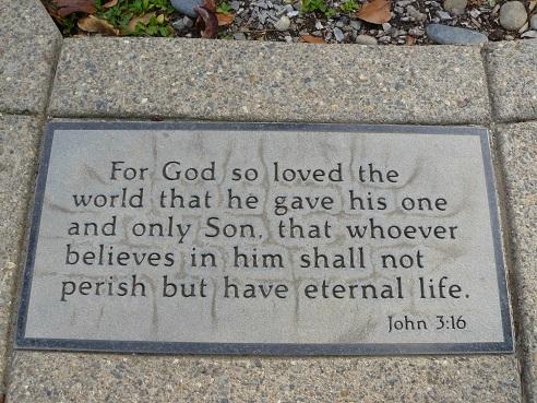 Easter Bible Verse John3:16