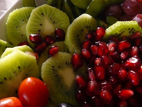 Kiwi and Pomegranate