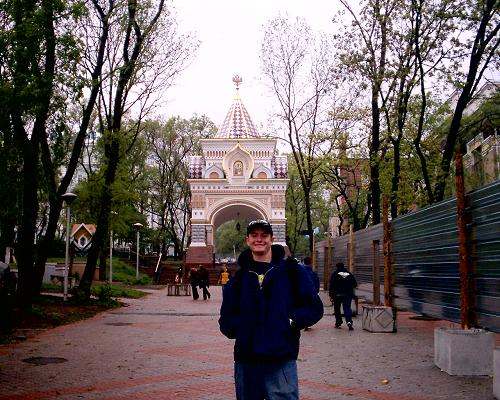 Ryan Storz in Russia