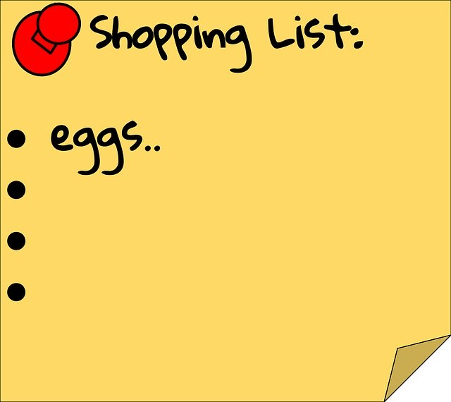 Healthy Grocery Shopping List