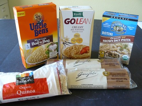 The month of September is Whole Grains Month!